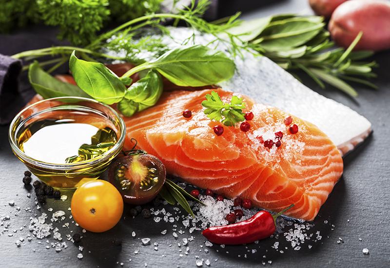 Raw Fillet of Verlasso Salmon