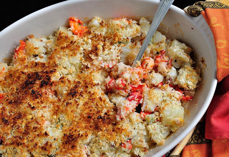 Potato and Lobster Casserole