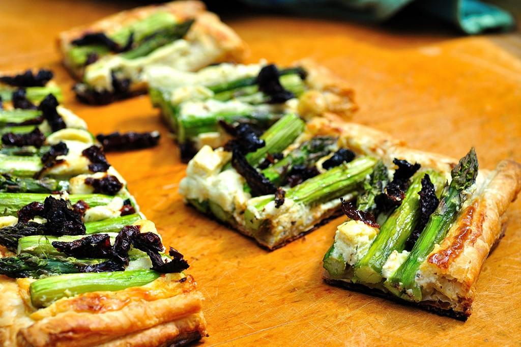 Asparagus Tart Pieces