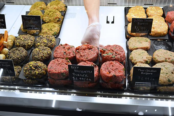 Meat Case - Gourmet Burgers