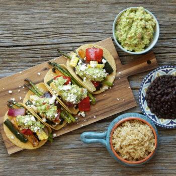 Harvest Vegetable Tacos