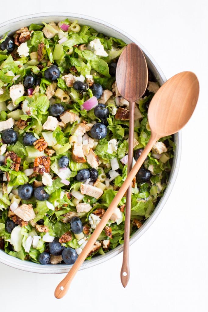 Blueberry Salad Finished