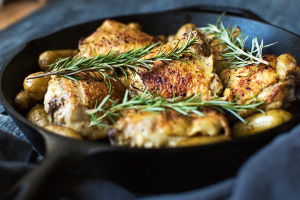 Honey Mustard and Rosemary Chicken