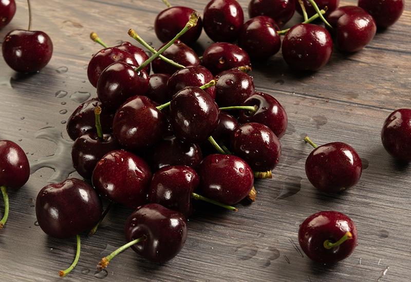 Cherries in a Pile