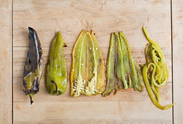 Hatch Chili Cutting Process