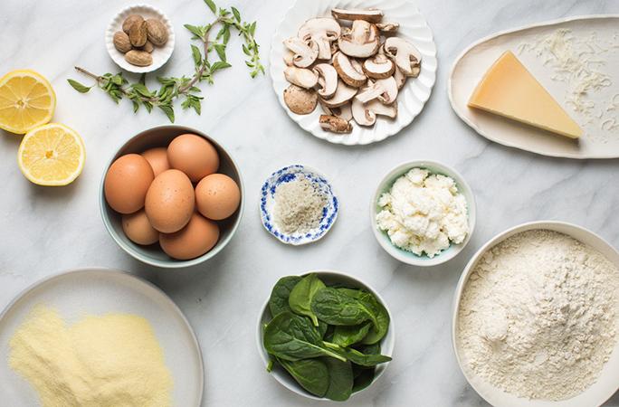 Homemade Ravioli Ingredients