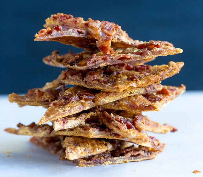 Maple Caramel Bacon Crack Stack