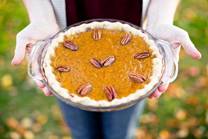 Spiced Farm Pumpkin Pie