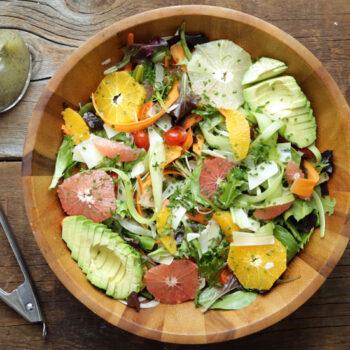 Citrus Salad Recipe with Lemon Poppy Seed Vinaigrette