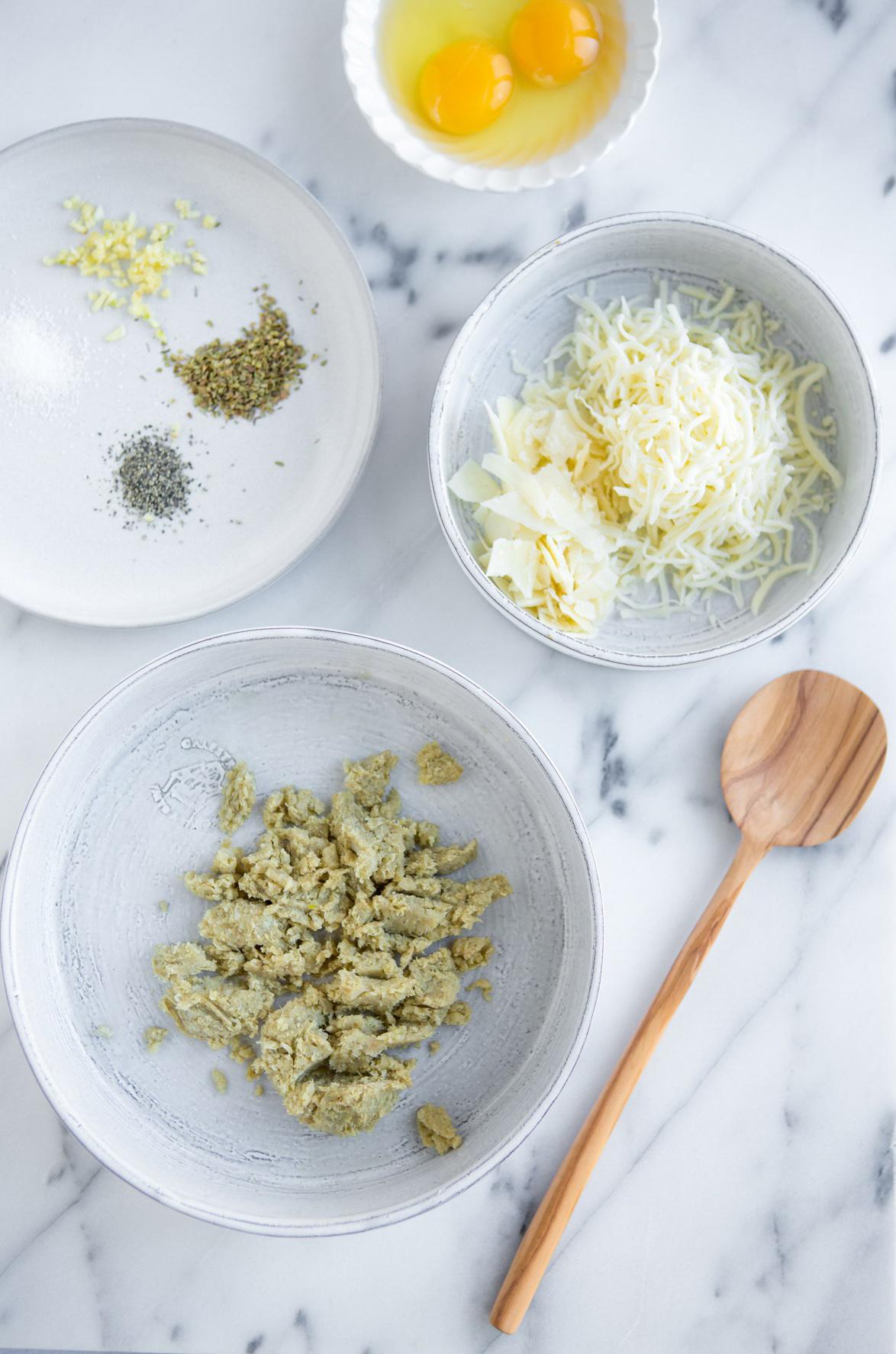 Cauliflower Pizza Ingredients