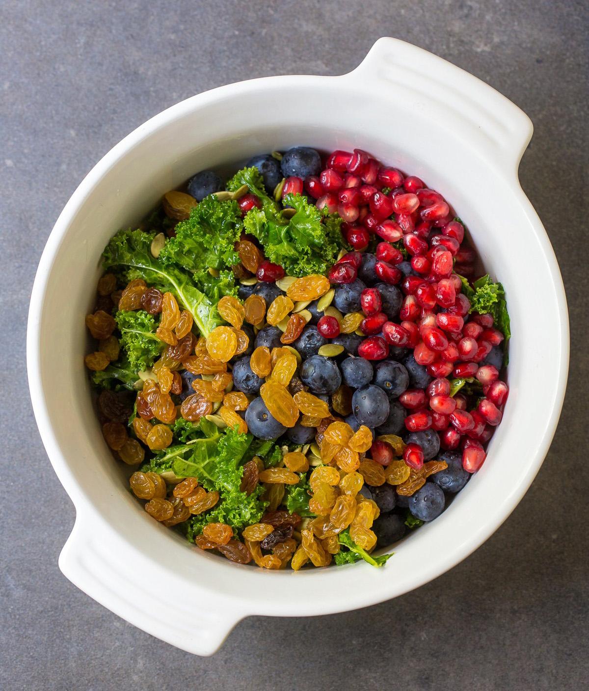 Heinen's Blackened Salmon Power Salad in Bowl