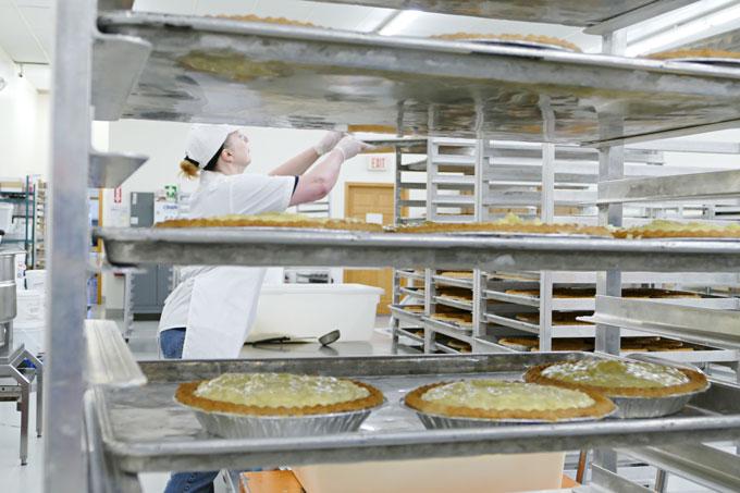 Mama Jo Pies on a Tray