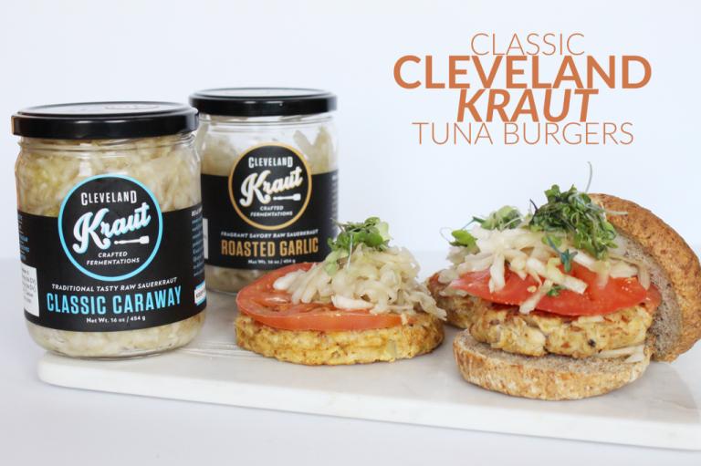 Classic Cleveland Kraut Tuna Burgers