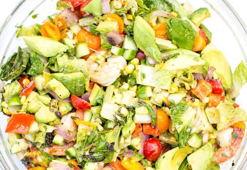 Grilled Shrimp Salad Feature