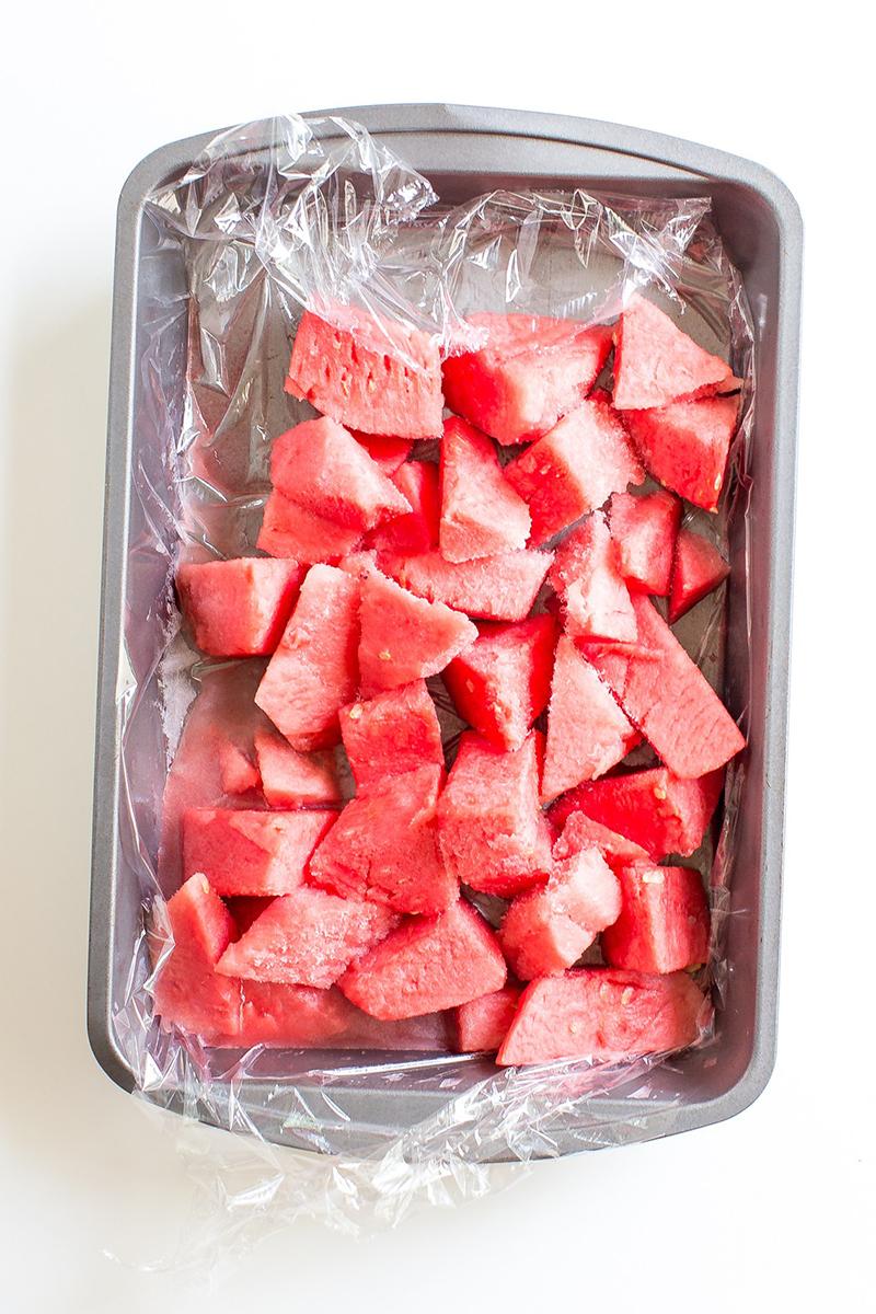 Watermelon on a Pan