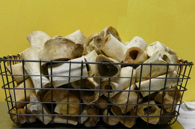 Bones for bone broth