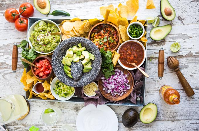 guacamole bar spread