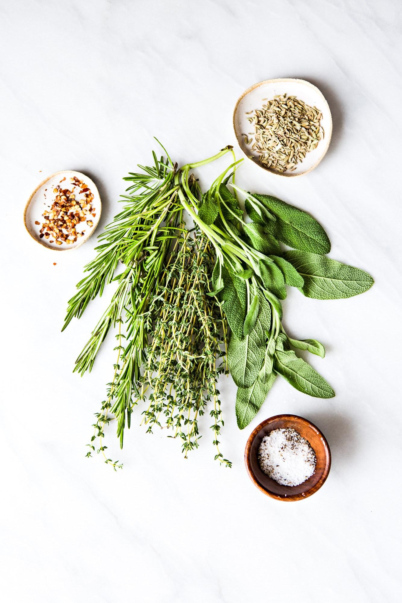 Lamb Herb Rub Ingredients
