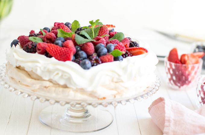 Final Pavlova Cake
