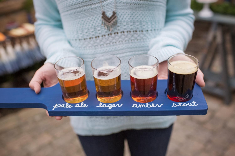 DIY Beer Tasting Paddle
