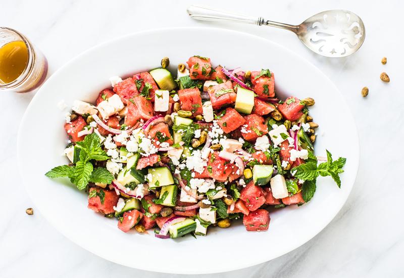 Simple Watermelon Salad