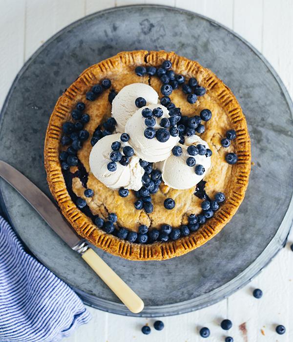 Ice Cream-Topped Pie