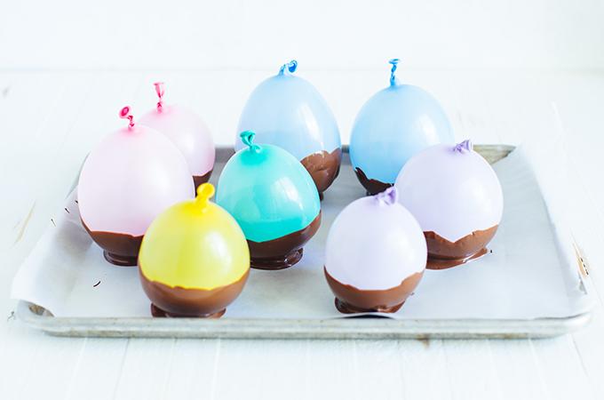 Ice Cream Sundae Bar with Balloons