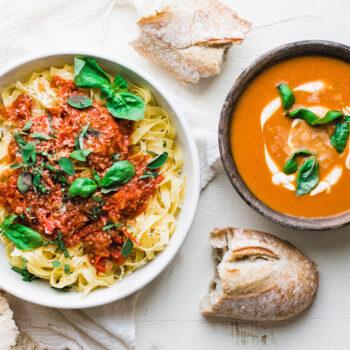 Marinara Sauce and Tomato Bisque