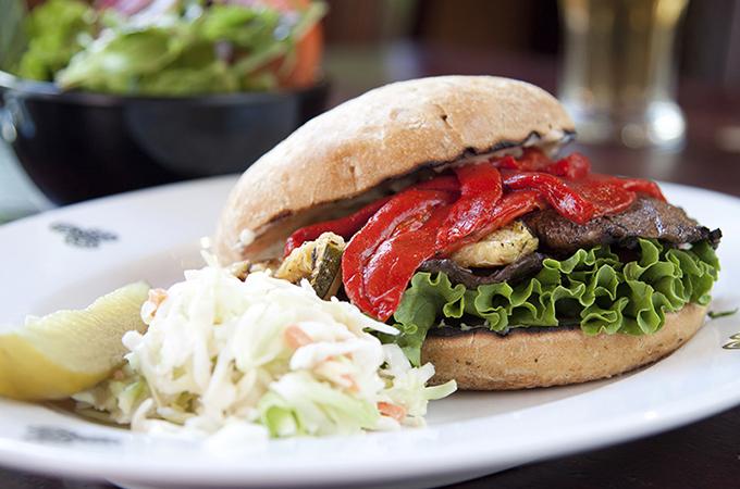 Grilled Portabella Mushroom Burger