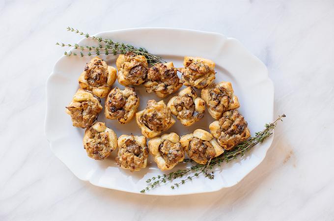 Hot Mushroom Pastry