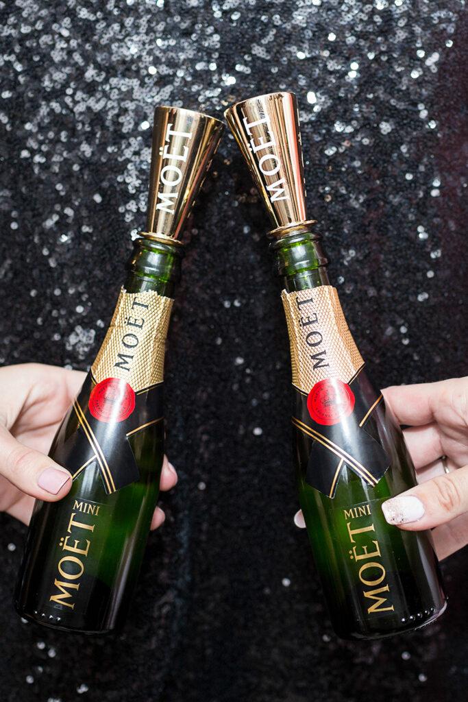 Moet champagne clink
