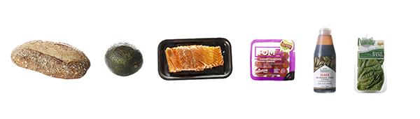 Smoked Salmon Avocado Toast Ingredients