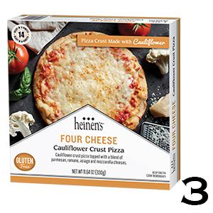Heinen's Four Cheese Cauliflower Crust Pizza