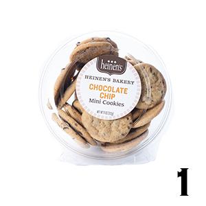 Heinen's Chocolate Chip Mini Cookies