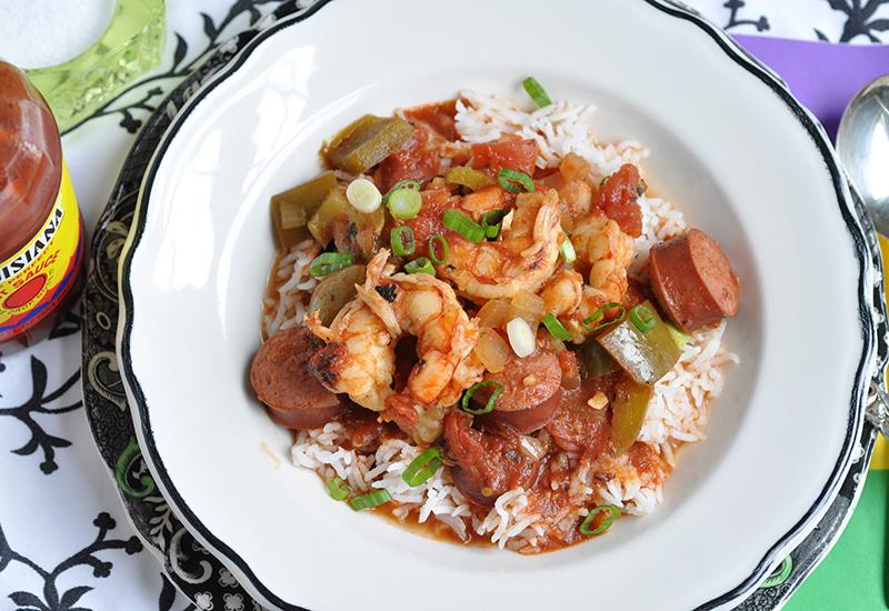 Shrimp Creole Stew