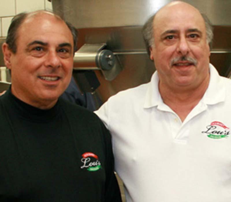 Joe and Frank of Lou's Gourmet Sausage