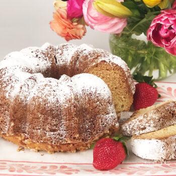 Overnight Ricotta Coffee Cake