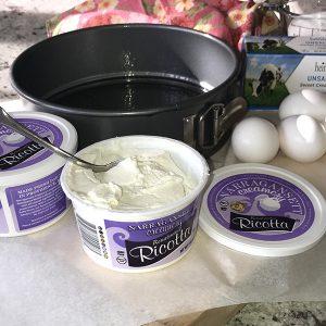 Overnight Ricotta Cake Ingredients