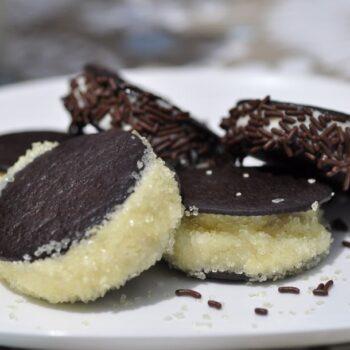 Chocolate Wafer Donut