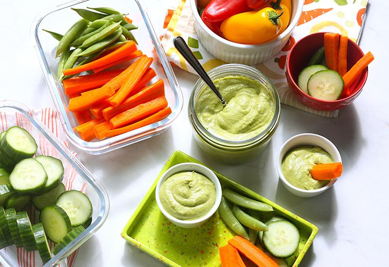 Cool Green Hummus