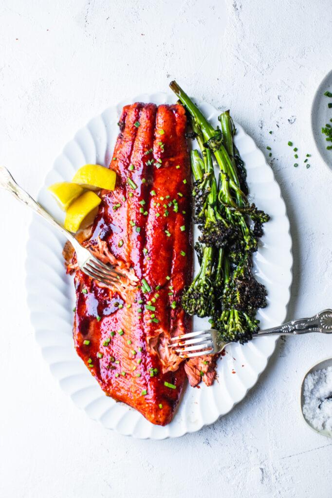 Heinen's Cedar Planked Salmon
