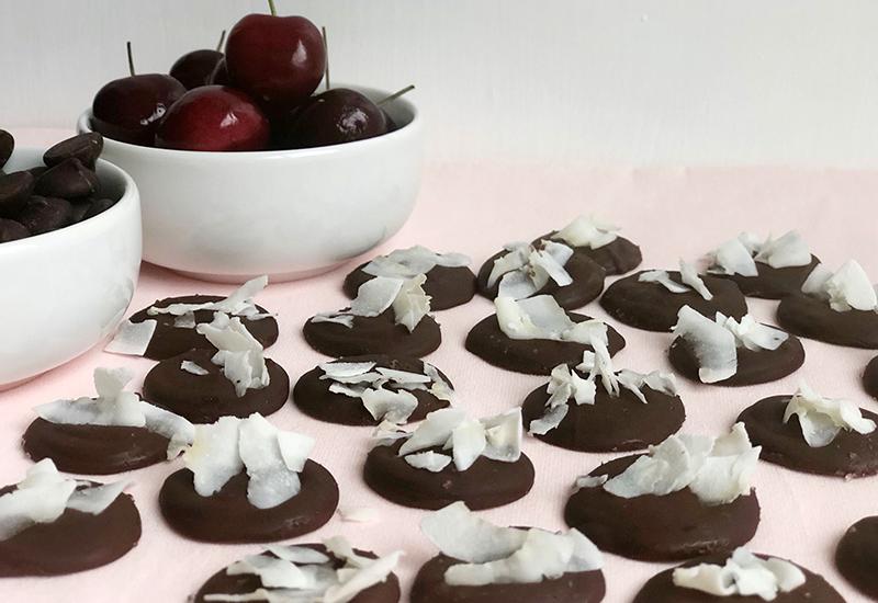 Dark Chocolate Coconut Gem