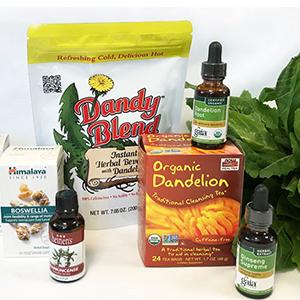 Dandelion and Wheat Grass