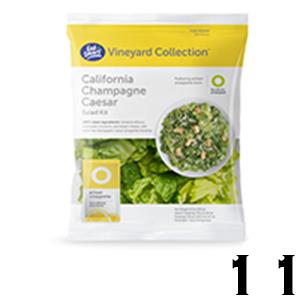 Eat Smart Salad Kit - California Champagne Caesar