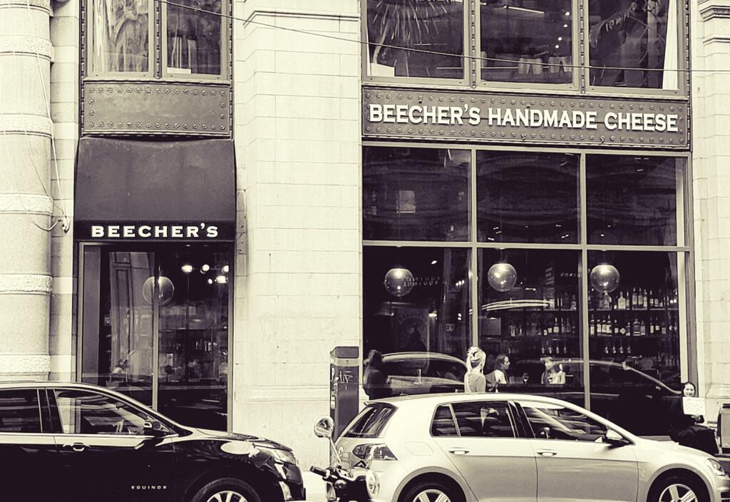 Beecher's Handmade Cheese Storefront