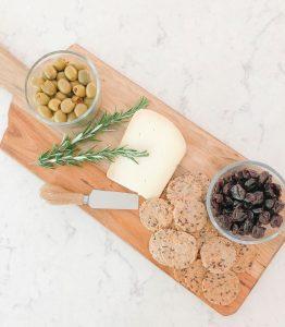Treadway Creek cheese board