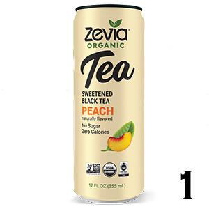 Zevia Organic Tea - Peach