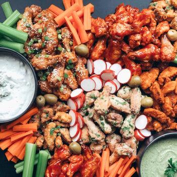 Chicken Wing Assortment