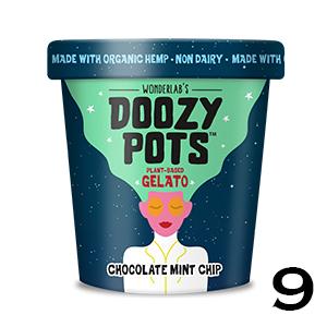 Doozy Pots Plant Based Gelato - Chocolate Mint Chip
