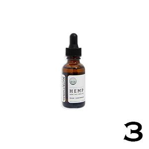 Nutritional Roots THC Free Hemp Oil